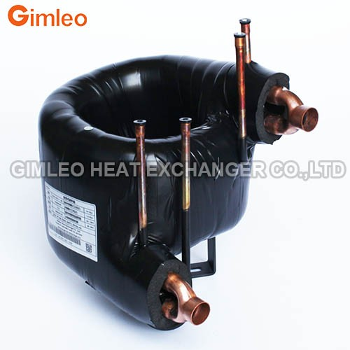 2HP Coaxial Heat Exchanger with Insulation